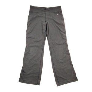 Nike Dri-Fit Pants Women's Large 31x30 Gray Yoga